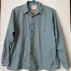 Wrangler Shirt, Long Sleeved, Button Up, Striped